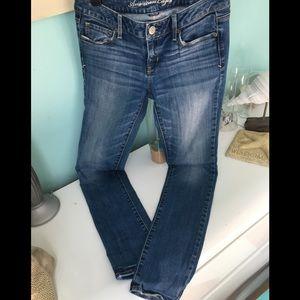 American Eagle skinny stretch Women's denim pants